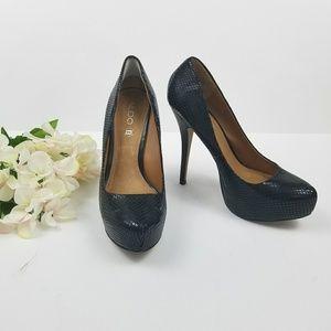 Aldo Black Platform Pump Heels